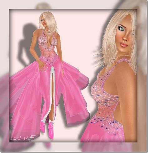 adiva rosa gown