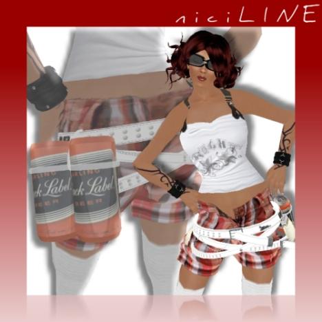 short streetwear funky girl 2