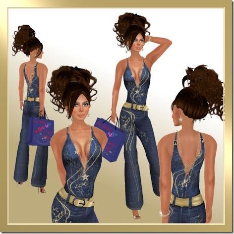 adiva jeans jumpsuit
