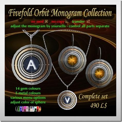 FifefoldOrbitMonogramCollection