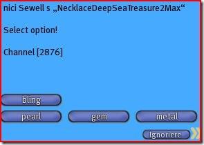 Deep sea treasure menu1