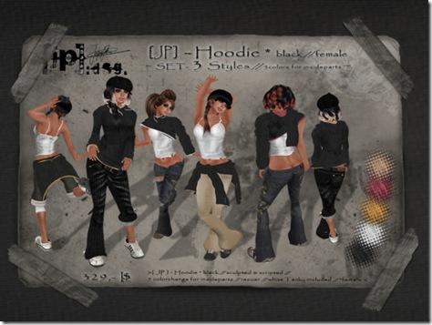 jp design hoodie set