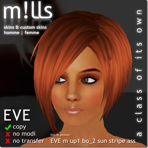 Skin EVE face