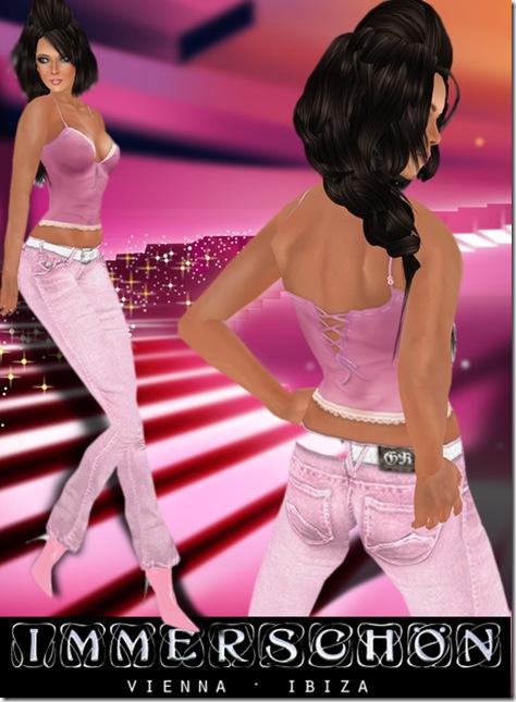 immerschoen rosa jeans shirt1 Kopie