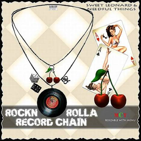 __LEO-NT__ ROCK`N ROLLA _3 RECORD [chain]