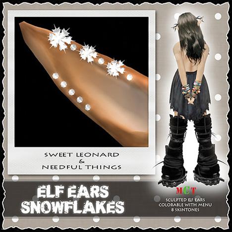 __LEO-NT__ ELF EARs _SNOWFLAKESa_