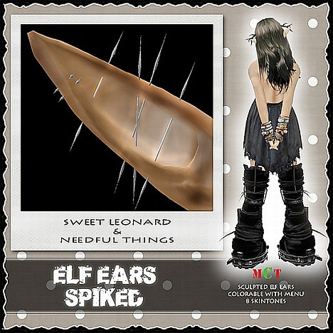 __LEO-NT__ ELF EARs _SPIKED_a