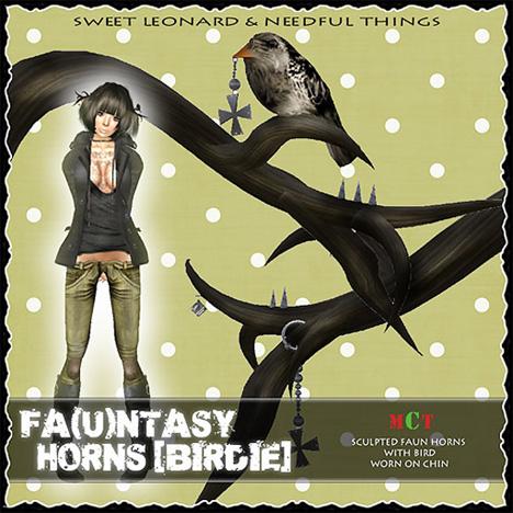 __LEO-NT__ Fa(u)ntasy Horns [birdie]a