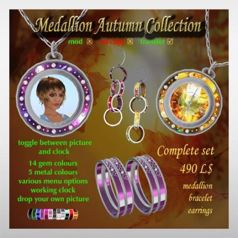 Medallion Autumn Collection Set