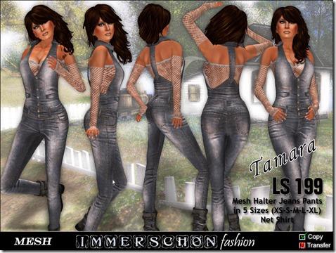 Girl - Mesh Outfit Tamara