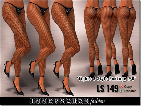 Immerschoen Girl - Tights 3 Style Package #6