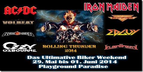 Rolling Thunder Plakat