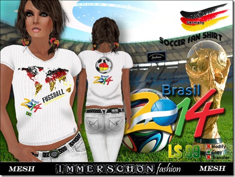 Mesh Shirt WM 2014 Germany