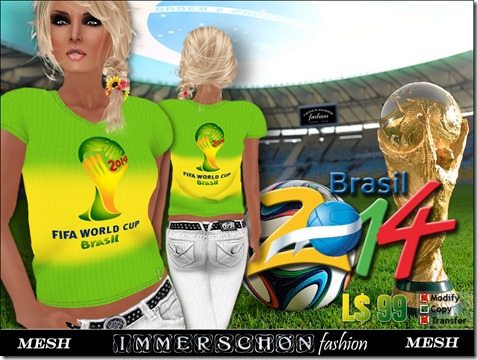 Mesh Shirt WM2014 FIFA Brasil