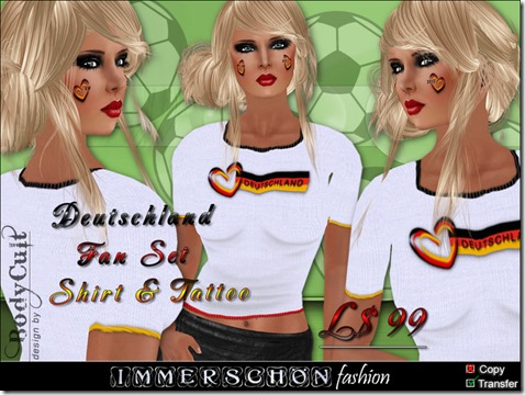 Deutschland Fan Set