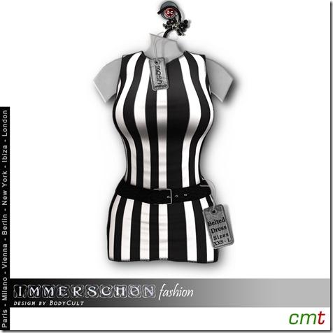 Mesh-Hanger-Belted-Dress-Stripes-bw-MP