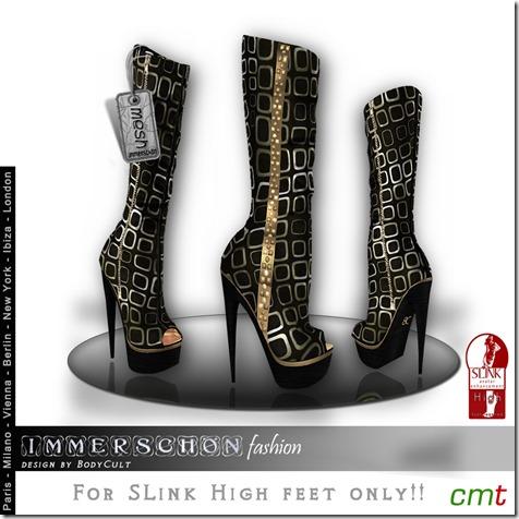 Mesh-High-Heel-Boots-SLink-Cube-gold-MP