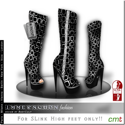 Mesh-High-Heel-Boots-SLink-Cube-silver-MP