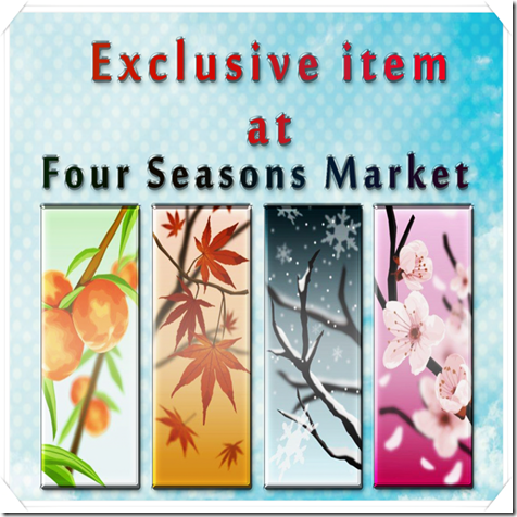 Four Seasons Market  -  _Exclusive item at_ label