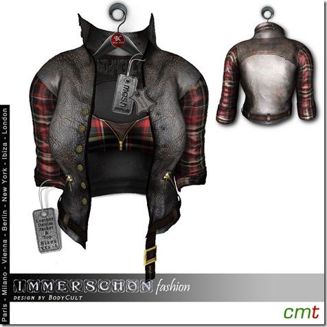 Mesh-Hanger-Leather-Denim-Jacket-checked-MP