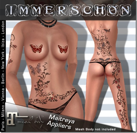 Maitreya-Appliers-Tattoo-Butterfly-Blue-Color