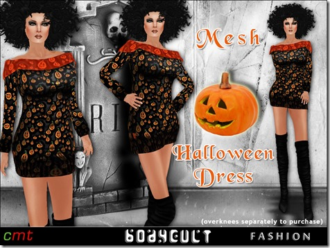 BodyCult-Fashion-Mesh-Dress-Halloween